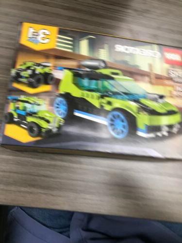 creator 3in1 rocket rally car 31074 building