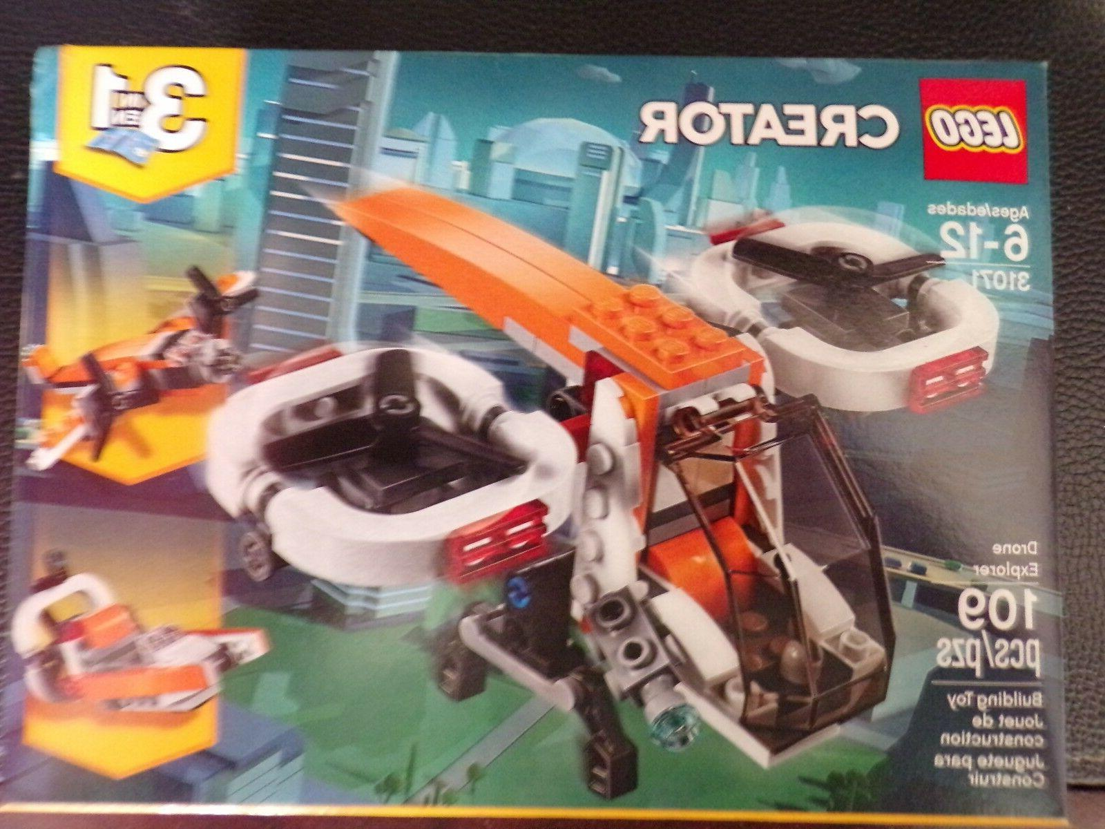 creator drone explorer 31071 building
