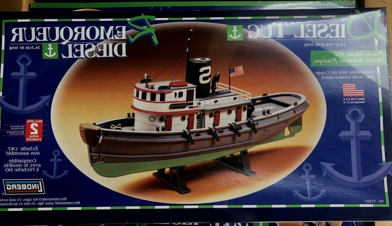 diesel tug boat model kit