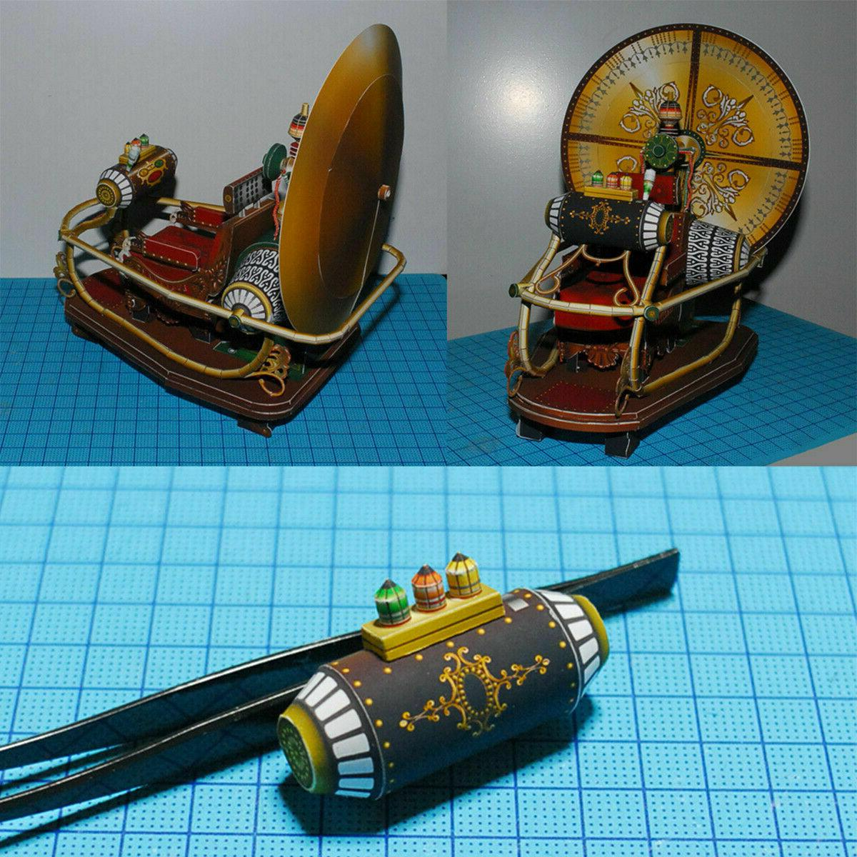 DIY The Time Machine 3D Gift Manual
