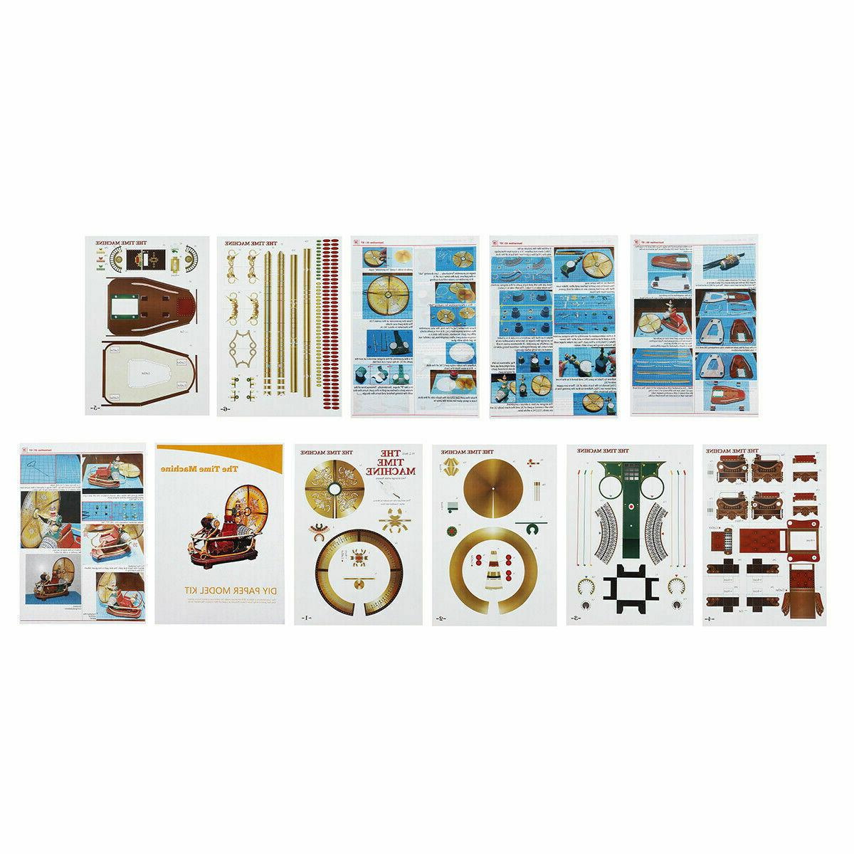DIY Model Kit The Time 3D Toy Gift Hobby Manual