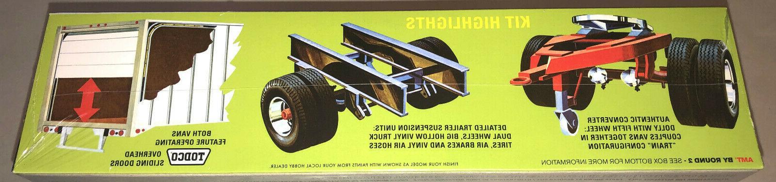 AMT Header Van Trailers 1:25 model kit 1132