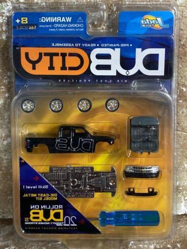 Jada DUB City ROLLIN ON DUBs Model Kit Skill Level 1 2000 Ch