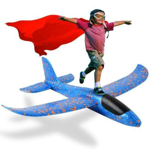 EPP Foam Airplane 2 Pcs,Outdoor Flying for 6