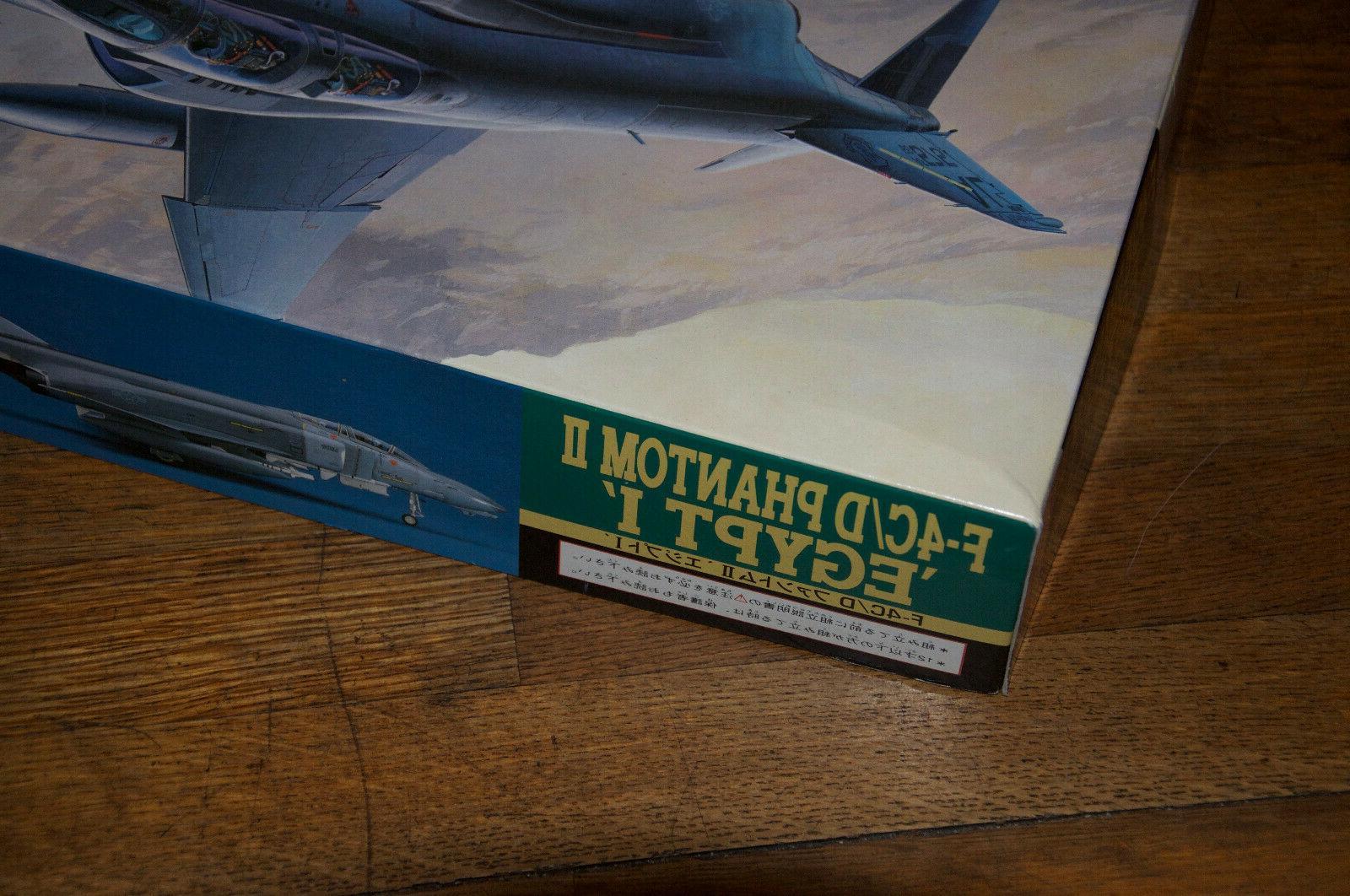 "Hasegawa ""F-4C/D Phantom Egypt Model 1/48 Aircraft"