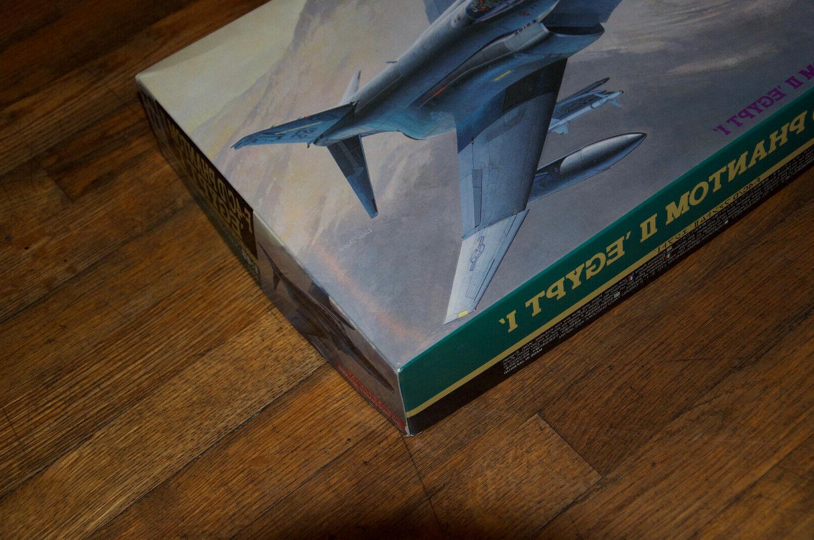 "Hasegawa ""F-4C/D II Egypt Model 1/48 Scale Aircraft"