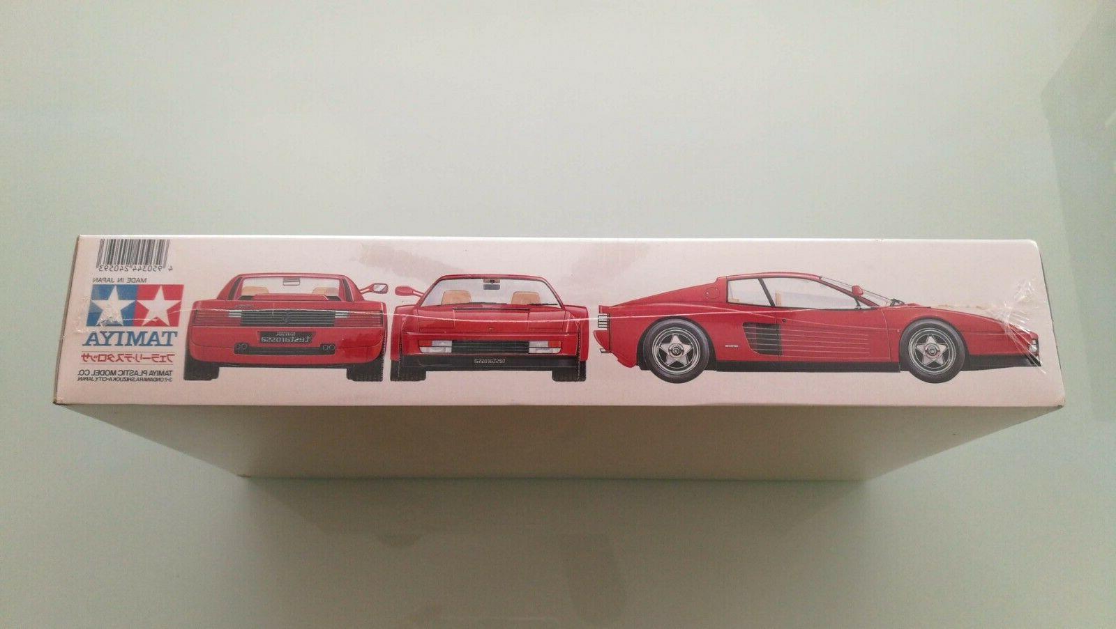 Ferrari Testarossa New Factory Tamiya 1:24