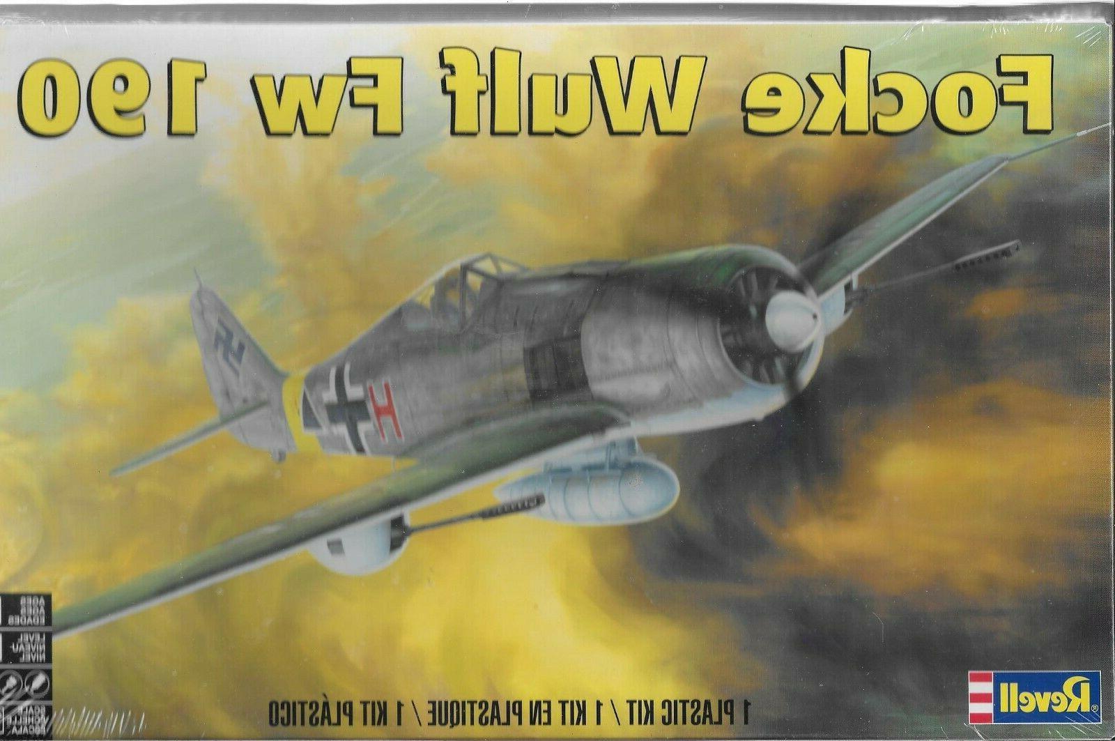 Revell Focke Wulf 190 model new