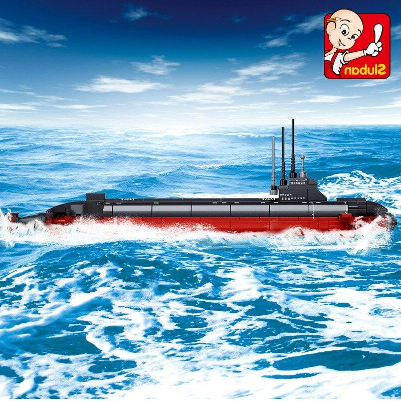 Building submarine 3D Educational gift