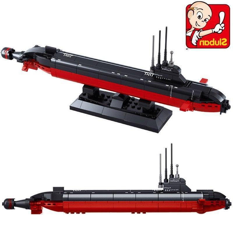 <font><b>Model</b></font> building Building city Nuclear-powered submarine 3D Educational toys <font><b>hobbies</b></font> gift