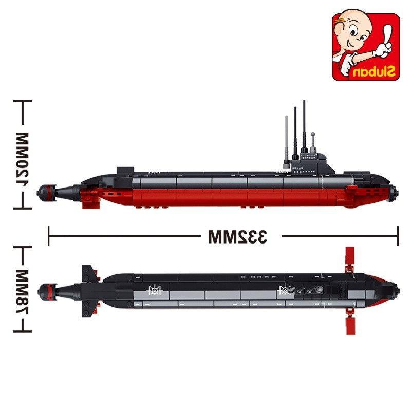 <font><b>Model</b></font> building Building city submarine 965 3D blocks Educational <font><b>hobbies</b></font>