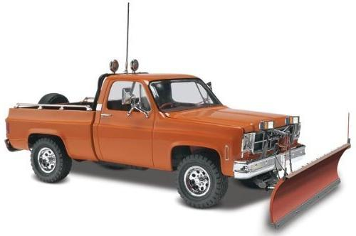 Revell GMC Pickup with Snow Plow Plastic Model Kit by Revell