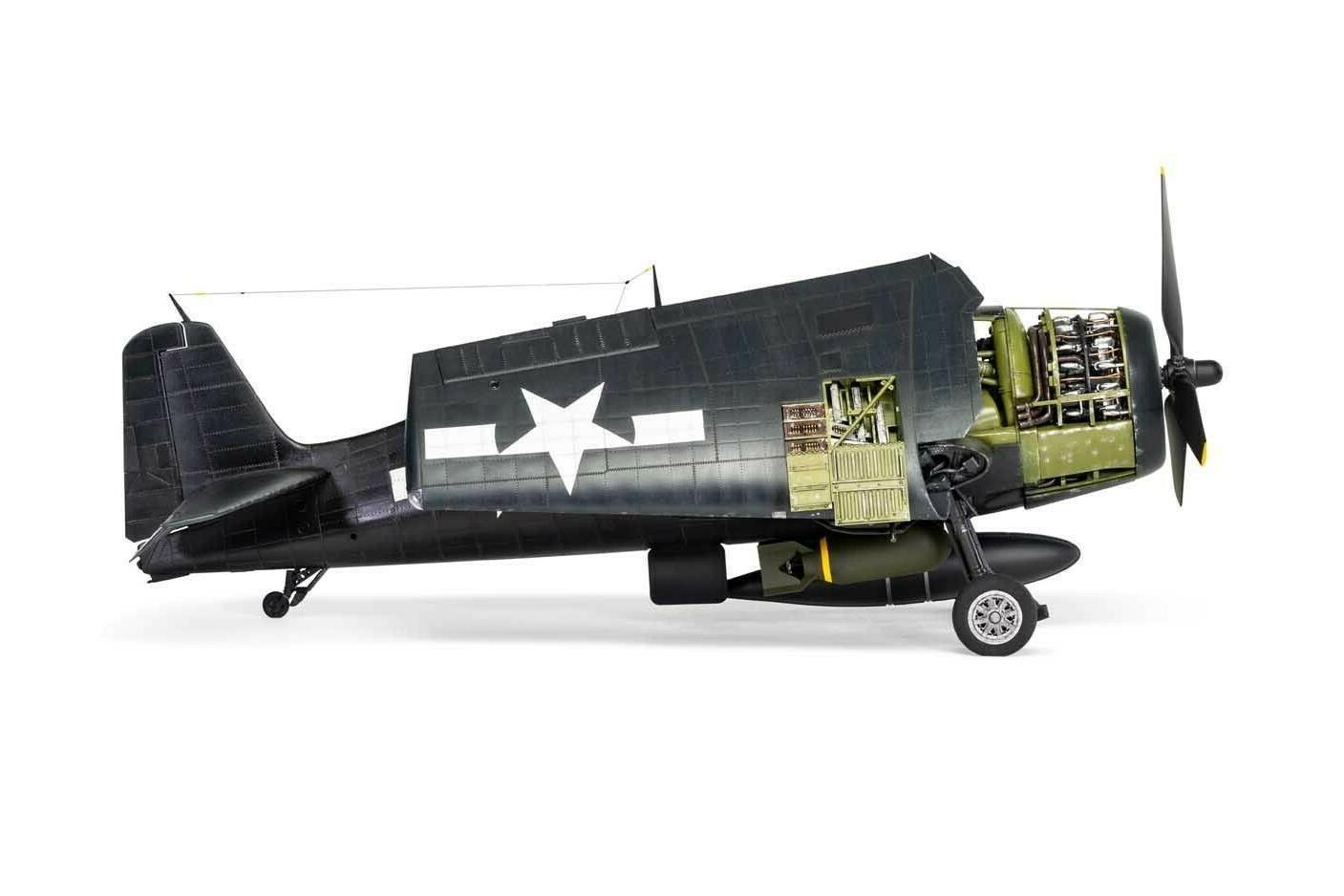 Airfix F6F-5 Model 1/24 ARX19004