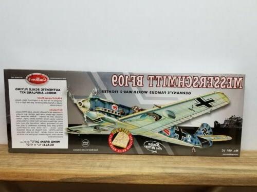 guillow s flying model kit messerschmitt bf