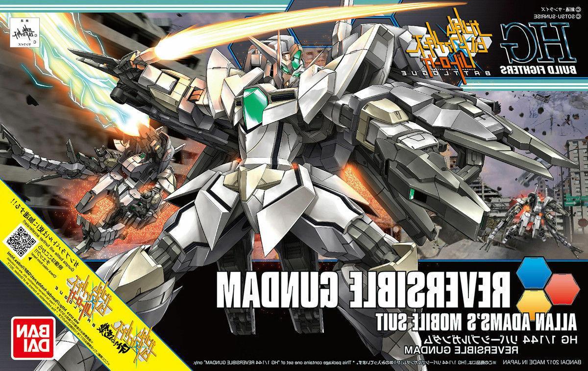 Gundam Build Fighters HGBF #063 Reversible Gundam 1/144 Mode