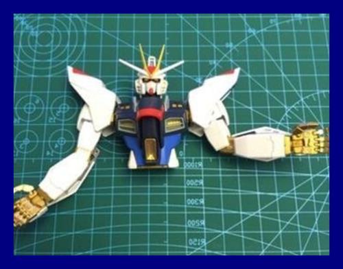 """Gundam Mat 12""""X9"""" A4"""