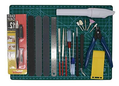 Alemon Gundam Modeler Builder's Tools Craft Set Kit For Prof