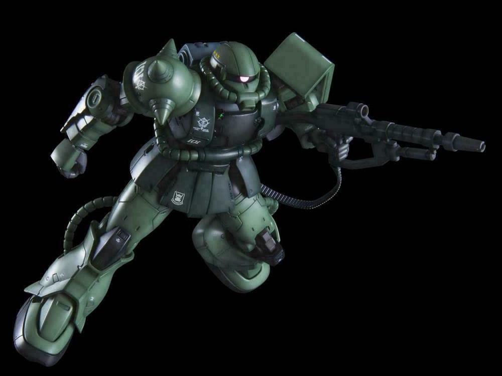 Bandai Hobby Origin HGUC Zaku II Type C-6 / R6 HG USA