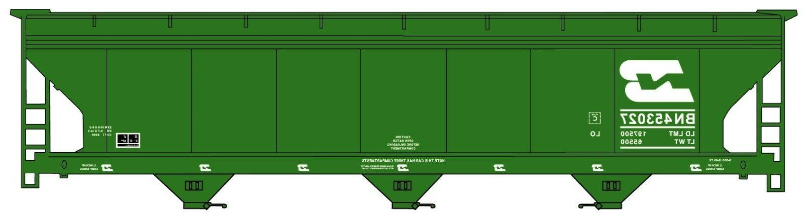 H0 - - ACF Hoppers Burlington - Model Kit
