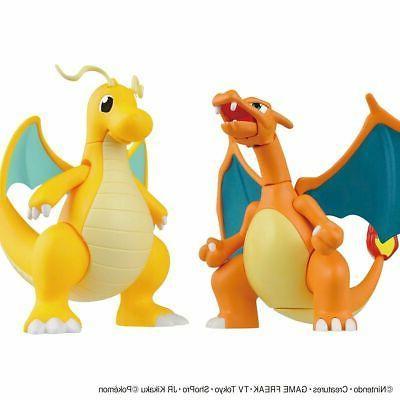 Bandai Hobby Pokemon Plamo Charizard & Model USA Seller