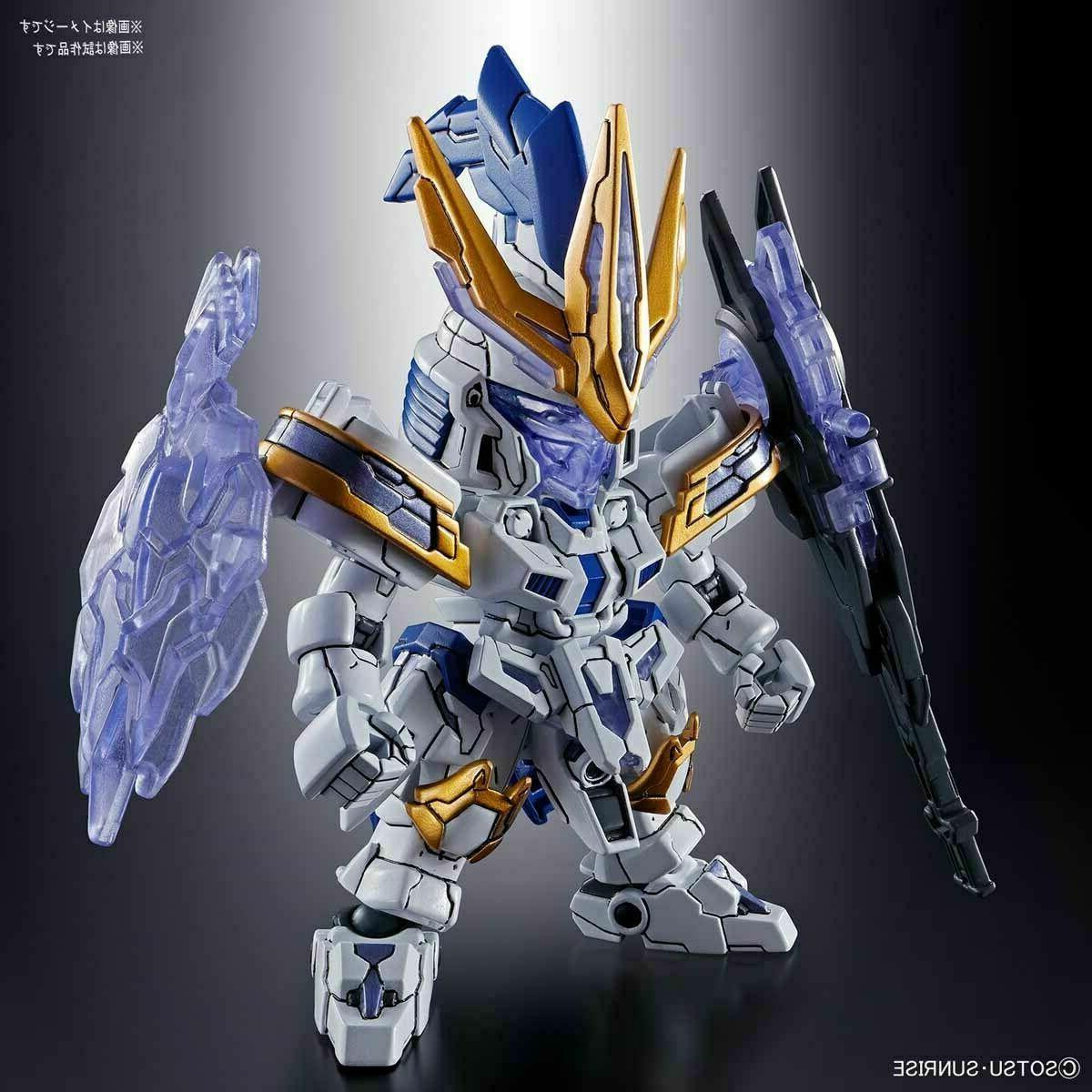 Bandai Hobby Sangoku Soketsuden Xiahou Dun Tallgeese Gundam SD Model Kit USA