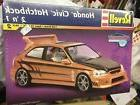 Revell Honda Civic Hatchback Tuner Series Model Kit 1:25 Sca