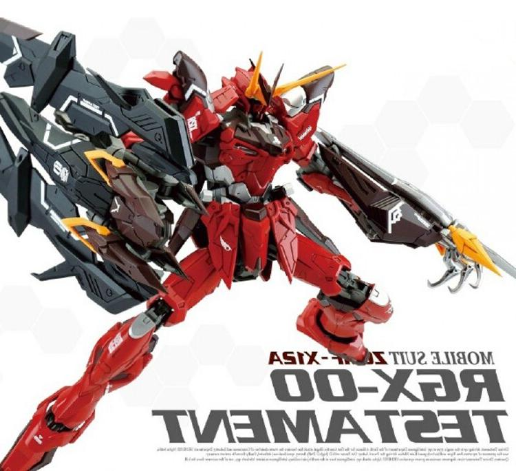 CMT In Stock RGX-0 TESTAMENT RED Mobile Suit <font><b>Kit</b></font>