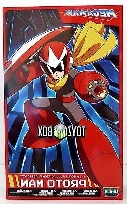 """In STOCK Ktobukiya Capcom """"Proto Man"""" Blues  Model Kit"""