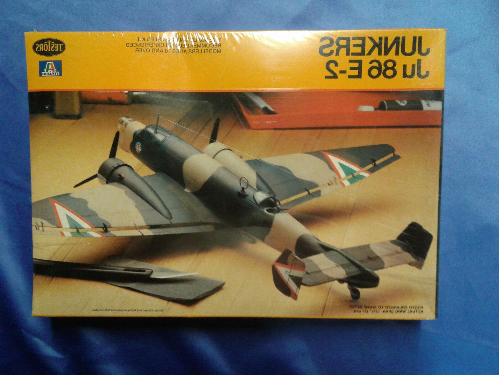 italeri junkers ju86e 2 plastic model plane