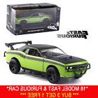 JADA 1:32 FAST AND FURIOUS 7 LETTY'S DODGE CHALLENGER SRT8 M