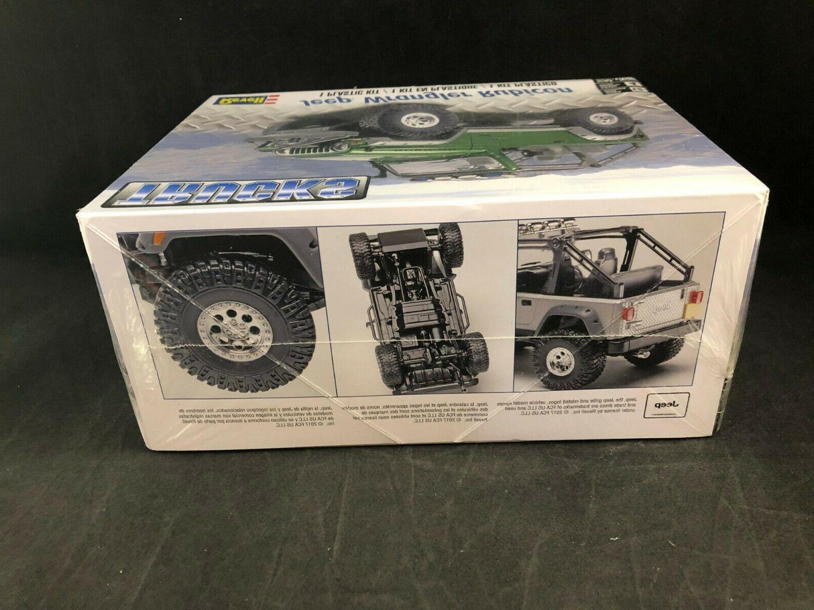 Revell Wrangler 1:25 Scale Plastic Model Kit 85-4053 New in Box