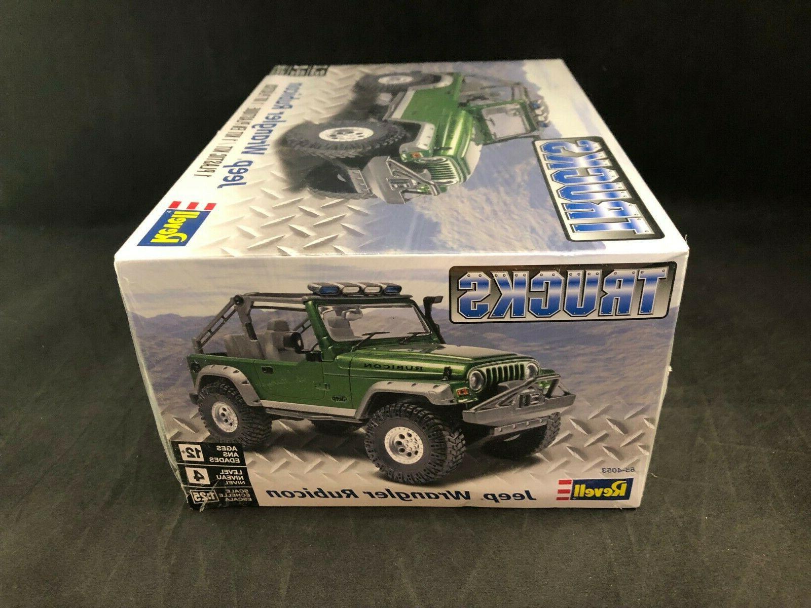 Revell Jeep 1:25 Scale Plastic Box