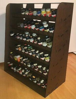 large floquil paint rack kit new