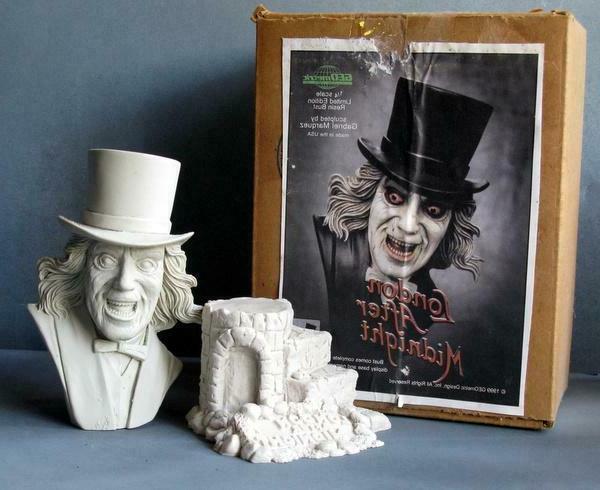 Lon Chaney London Midnight - Rare Resin Model Bust GEOmetric '99