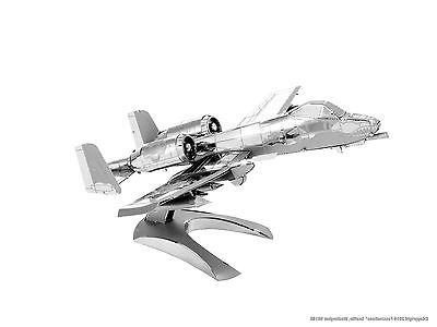 Fascinations Metal Earth 3D Model Kit A-10 Warthog US Air Fo
