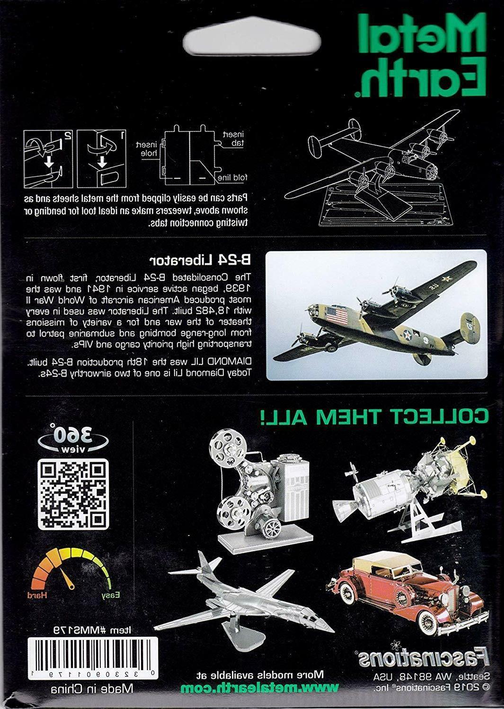 Fascinations Metal Model Kit - B-24 LIBERATOR