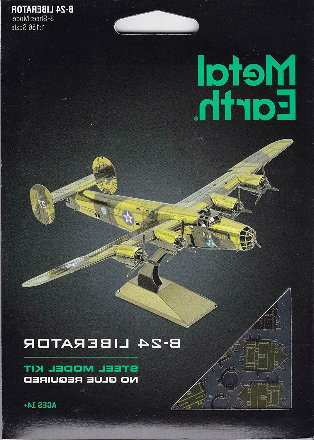 metal earth 3d model kit b 24