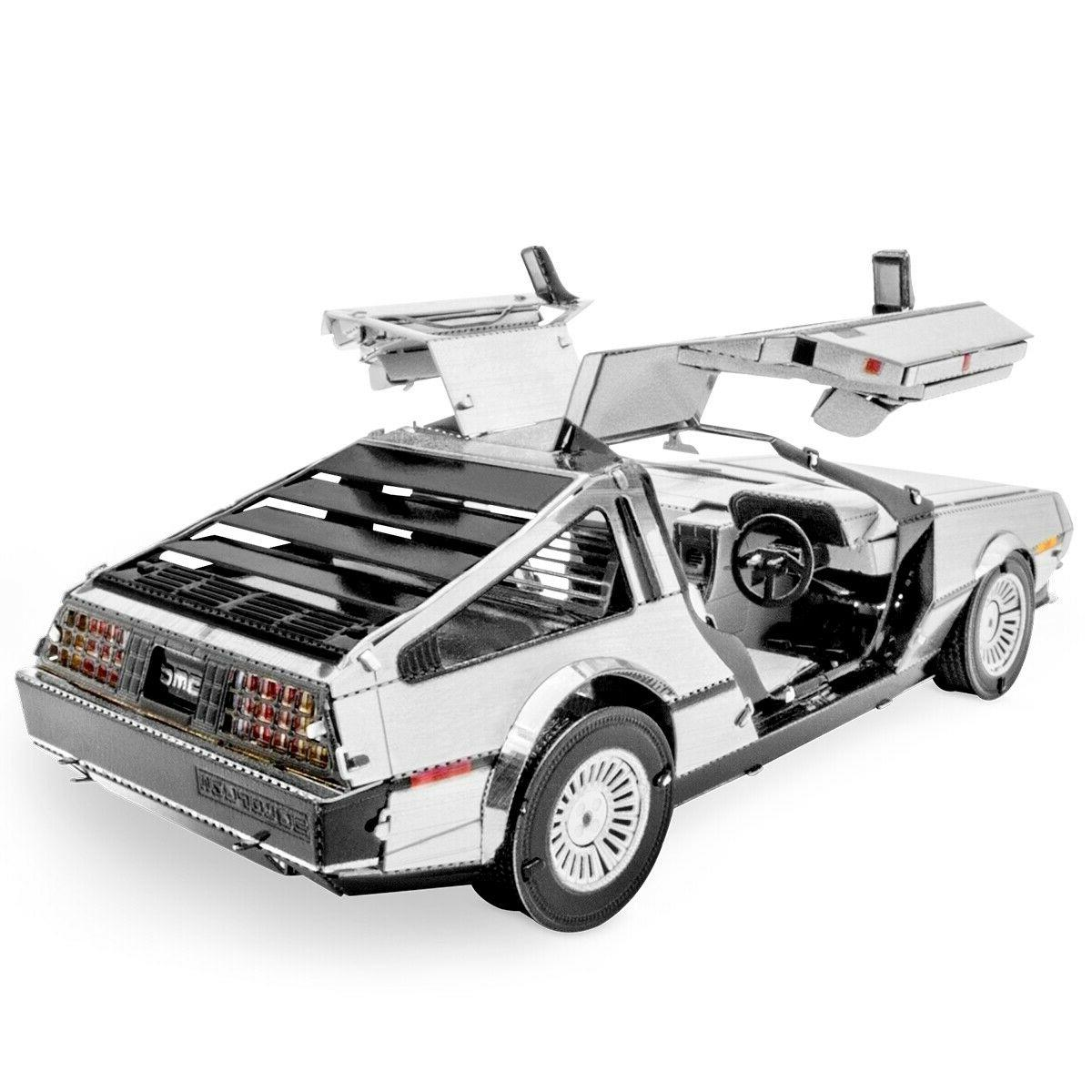Fascinations Metal Earth DELOREAN DMC 3D Laser Cut Steel Puz