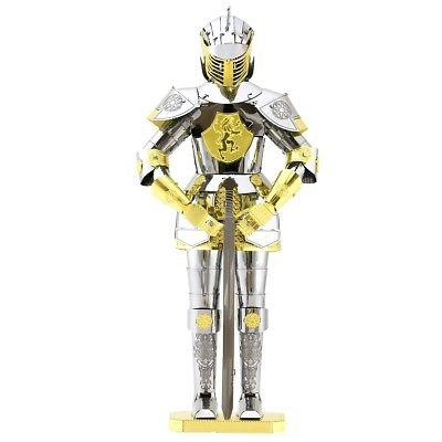 Fascinations Metal Earth European Knight Armor 3D Laser Cut