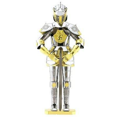 metal earth european knight armor 3d laser
