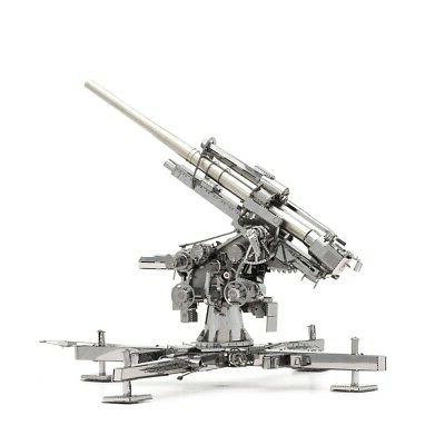 Fascinations Metal Earth 3D Model - World War GERMAN FLAK 88