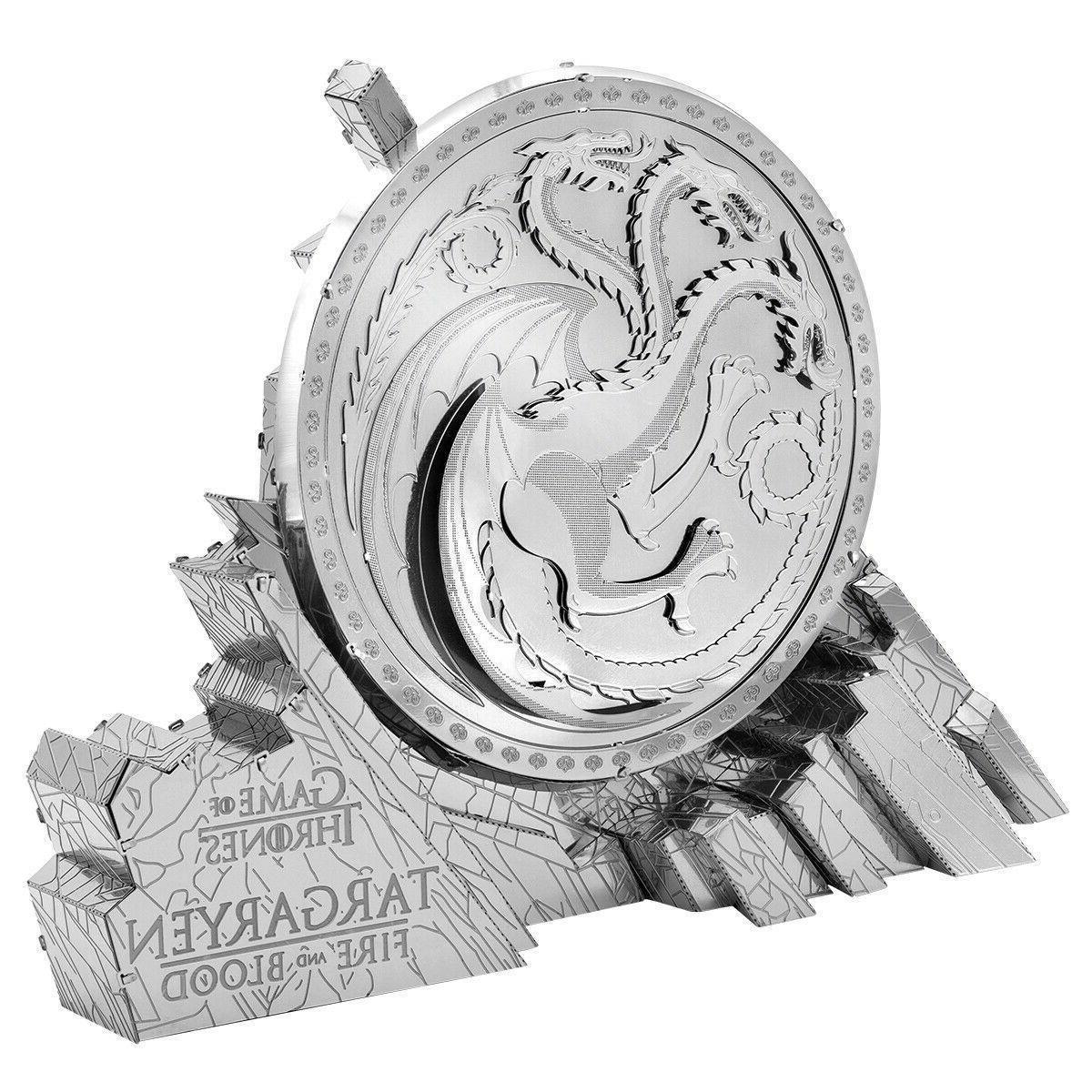 metal earth iconx game of thrones targaryen