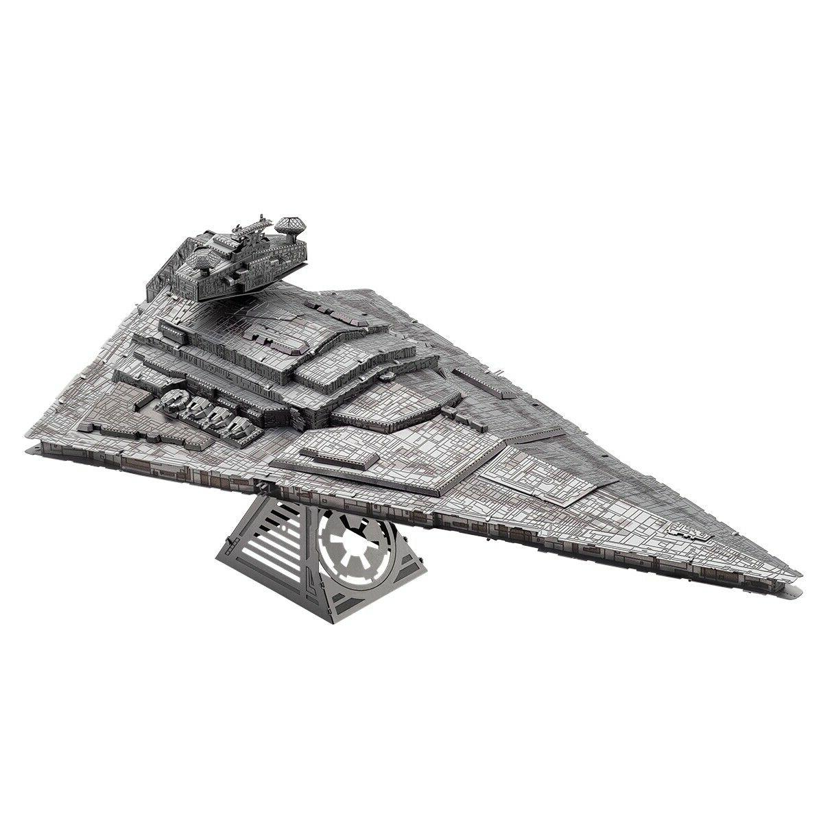 metal earth iconx imperial star destroyer 3d