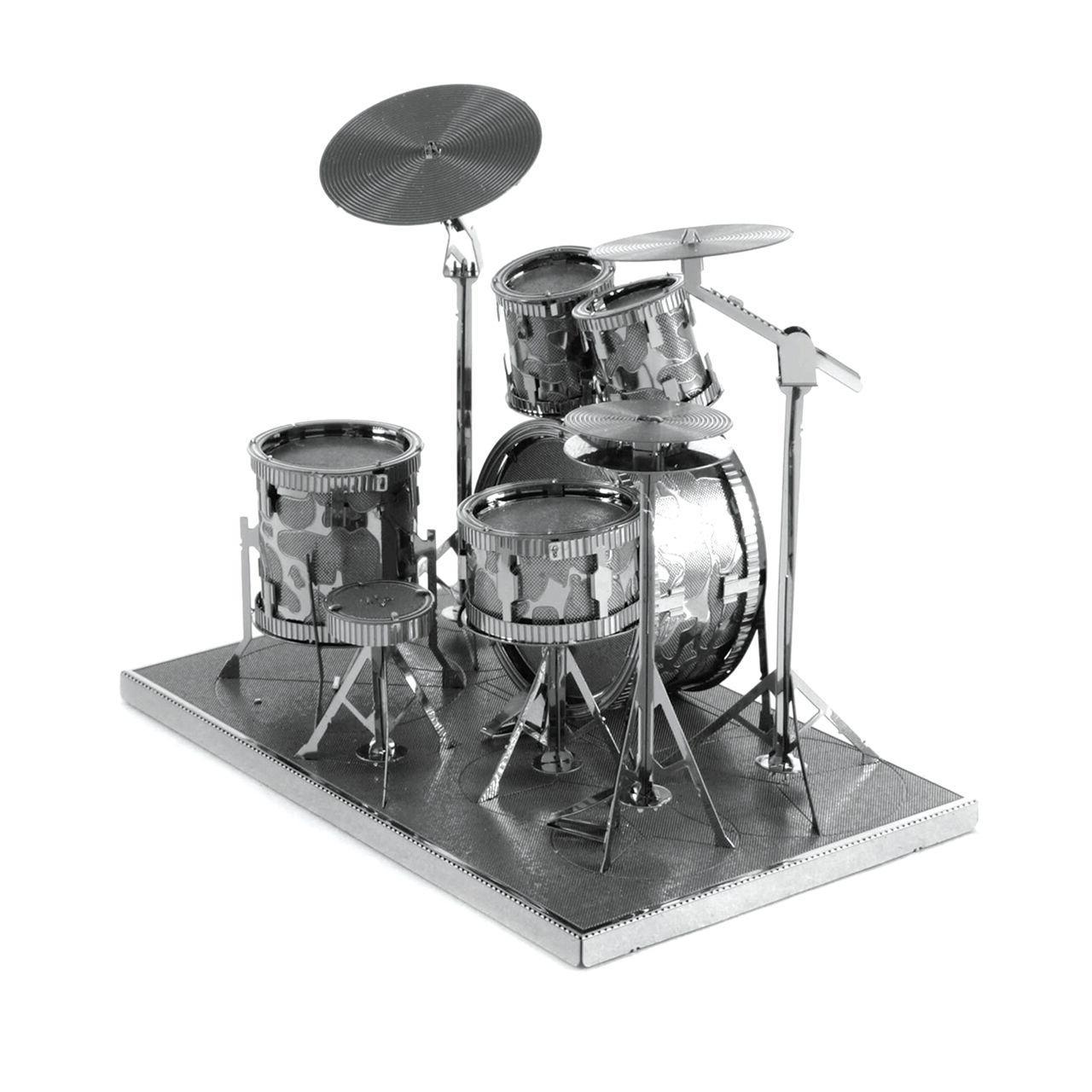 Fascinations Drum Set 3D Cut Steel Instrument Kit