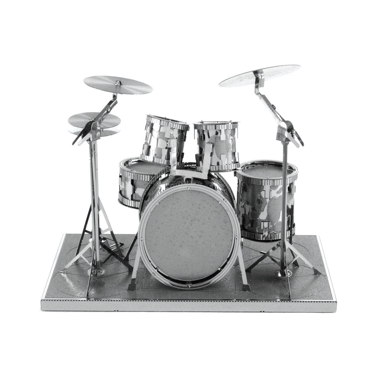 Fascinations Metal Modern Drum 3D Cut Instrument Kit