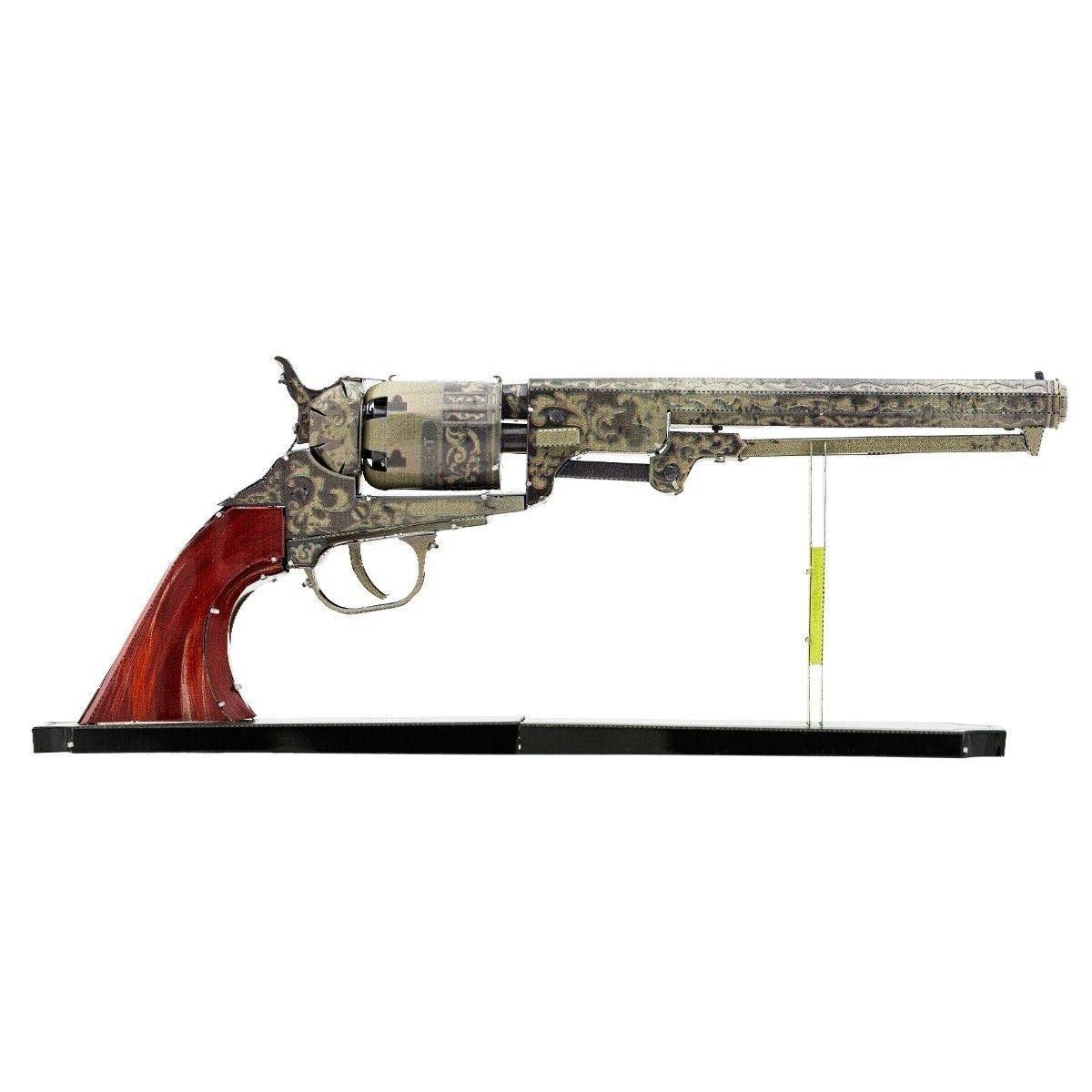 metal earth wild west revolver 3d laser