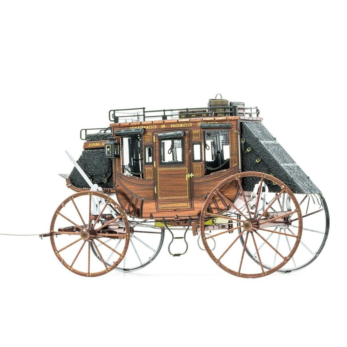 Fascinations Metal West Stagecoach 3D Puzzle