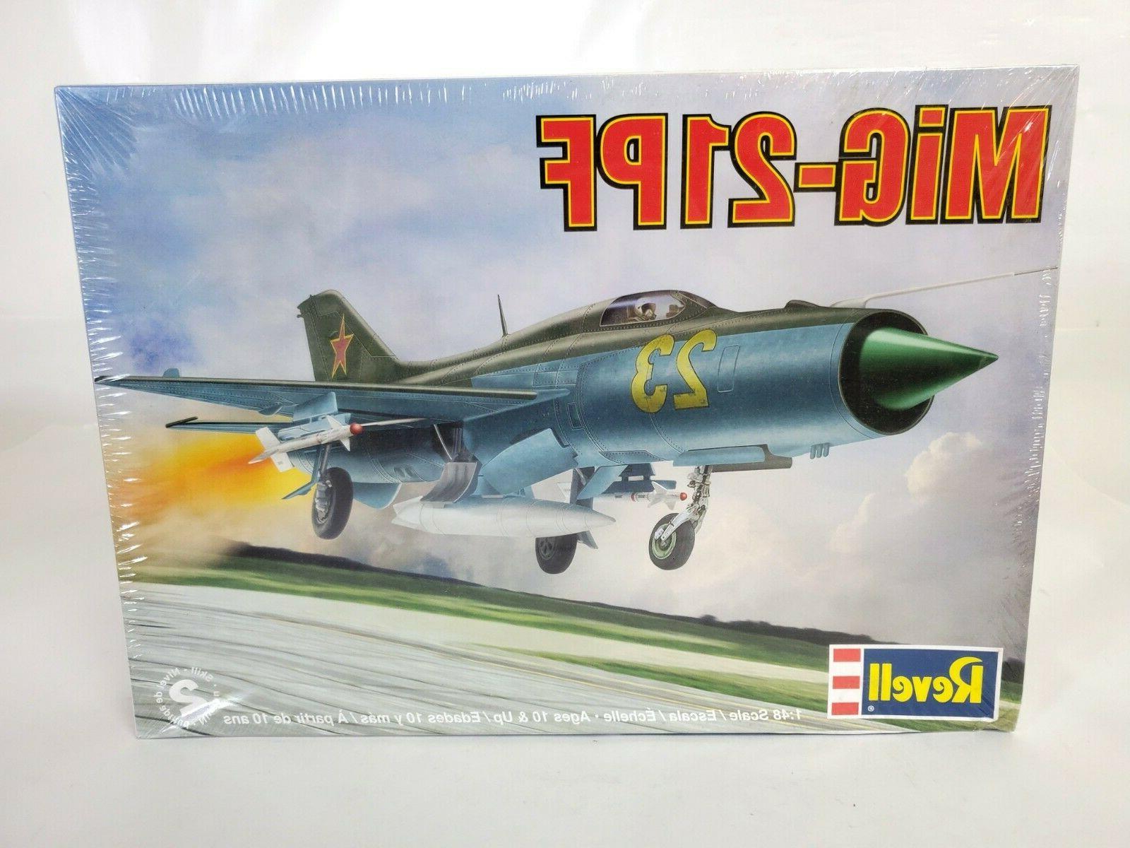 mig 21pf aircraft 1 48 scale plastic