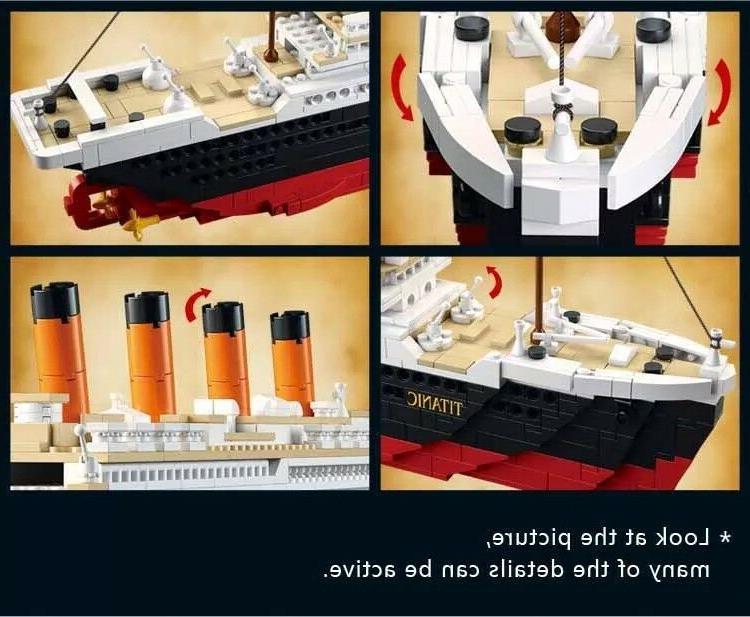 Model Kits Titanic Building Toys Hobbie