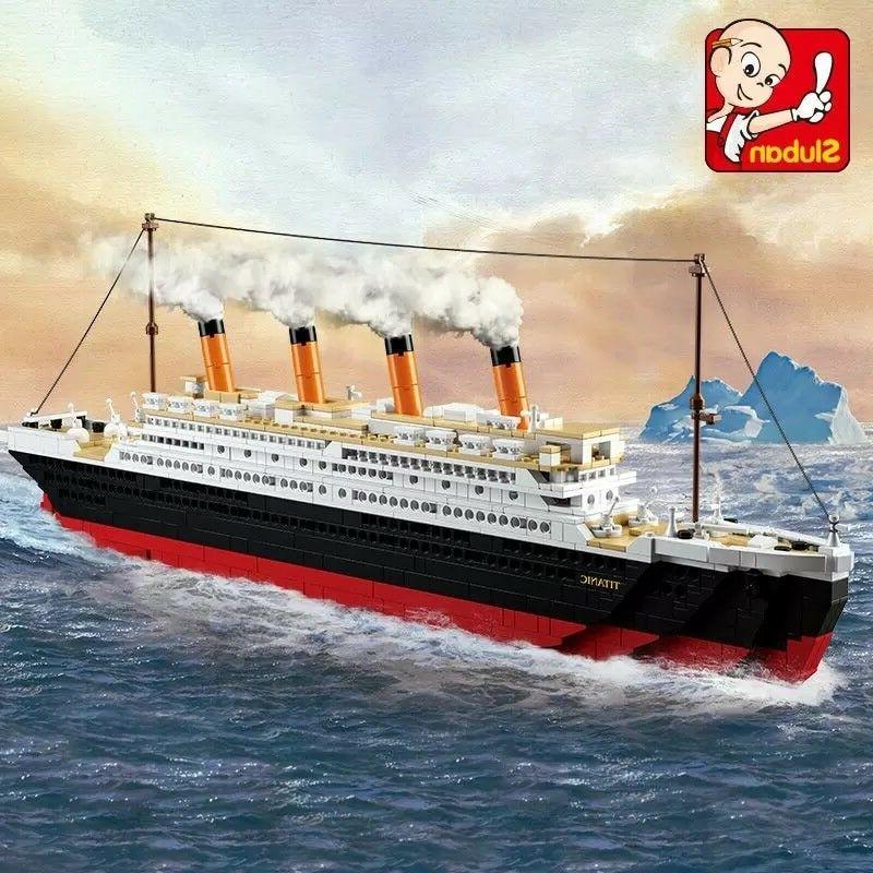 Model Titanic Blocks Building Toys Hobbie